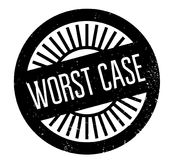 Worst Case rubber stamp Stock Photography