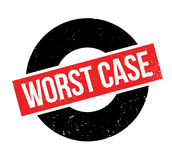 Worst Case rubber stamp Royalty Free Stock Photography