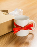Worst gift, cup Royalty Free Stock Photos