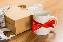 Worst gift, cup Stock Photography