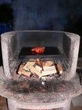 Worst op de grill Royalty-vrije Stock Fotografie