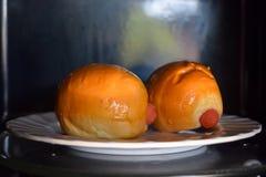 Worstbrood in microgolf laag licht DOF Royalty-vrije Stock Foto's