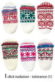 Worsted slippers Royalty Free Stock Photos
