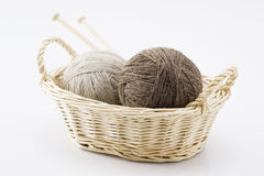 Worsted wool yarn Stock Photography