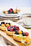 Worstje torteletts Royalty-vrije Stock Foto