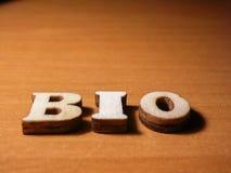 Wort Bio Stockbilder