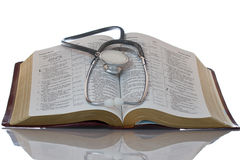Wort Gottes holt Gesundheit zur Seele Lizenzfreies Stockbild