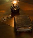 Wort ist eine Lampe Stockfoto