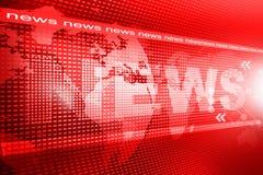 Wort-Nachrichten lizenzfreie abbildung