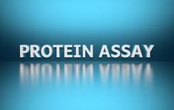 Wort-Protein-Probe stock abbildung