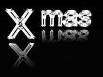 Wort-Weihnachten. lizenzfreie abbildung