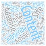 Wort-Wolken-Text-Hintergrund-Konzept Lizenzfreies Stockfoto