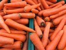 Wortel; markt; voedsel; plantaardig; gezond Stock Foto's