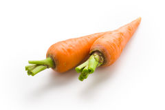 Wortel. Organische groente Stock Foto's
