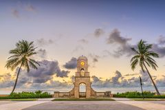 Worth Ave, West Palm Beach, Florida Royalty Free Stock Image