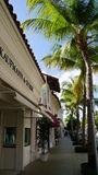 Worth Avenue in Palm Beach, Florida Stock Image