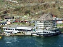 The Worth Castle or Schlossli Worth or Schlosschen Worth, Neuhausen am Rheinfall royalty free stock photo