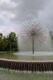 Wortham Fountain Stock Photo