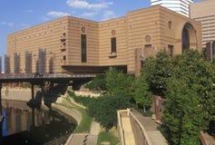 Wortham Performing Center en Houston TX Fotos de archivo