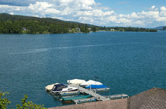 Worther see, austria Stock Photos
