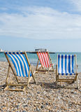 Worthing beach Royalty Free Stock Images