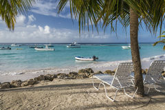 Worthing Beach Barbados West Indies Stock Photo