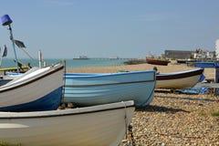 Worthing beach, West Sussex, England Stock Photo