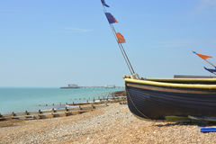 Worthing beach, West Sussex, England Stock Photos