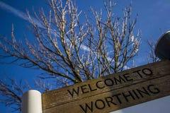 Worthing, England stockbilder