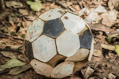 Worthing Football old. Was in the woods Stock Photo