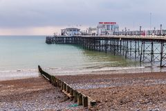 Worthing, le Sussex occidental, R-U photographie stock