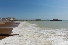 Worthing le Sussex occidental R-U image stock
