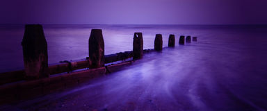 worthing na plaży Zdjęcie Royalty Free