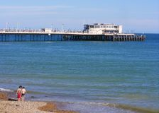 Worthing Pier Royalty Free Stock Image