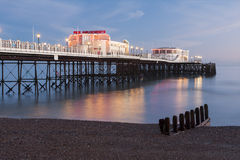 Worthing Pier early evening Royalty Free Stock Image
