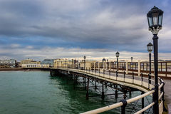 Worthing Pier, England Royalty Free Stock Images