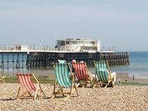 Worthing Pier Royalty Free Stock Photos