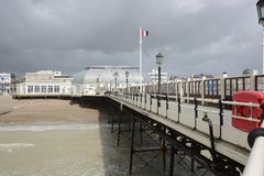Worthing Pier. Sussex. England Stock Photo
