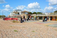 Worthing seafront. England Stock Photos