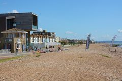 Worthing seafront. England Stock Photos