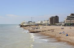Worthing seafront. Sussex. England Stock Photography