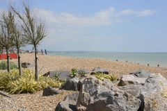 Worthing seafront. Sussex. England Stock Photo