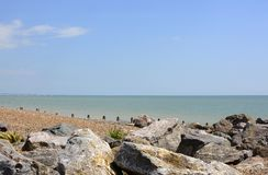 Worthing seafront. Sussex. England Royalty Free Stock Photography