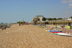 Worthing seafront, West Sussex, England Royalty Free Stock Photo