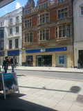 Worthing town centre Royalty Free Stock Photo