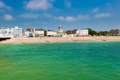 Worthing Zachodni Sussex Anglia Obrazy Royalty Free