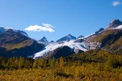 worthington ледника Аляски Стоковая Фотография