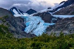 Worthington glaciär Royaltyfri Foto