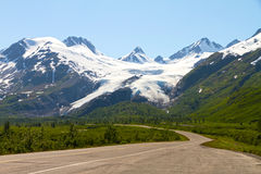 Worthington Glacier Royalty Free Stock Photos