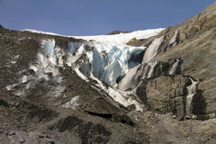 Worthington glacier Stock Images